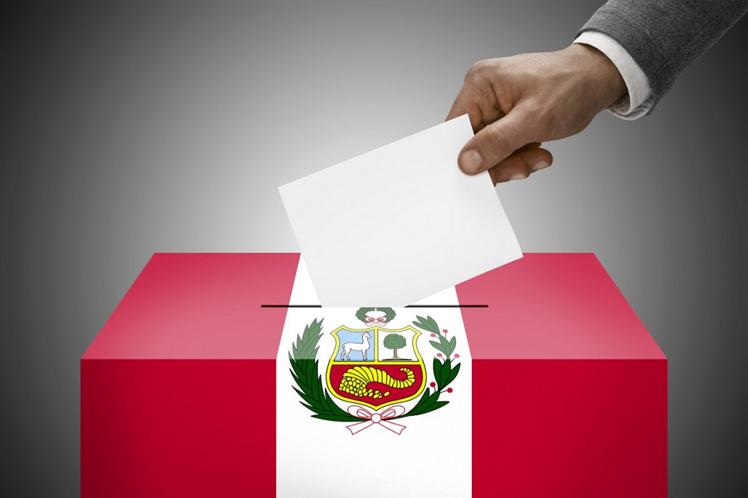 elecciones presidenciales 2021 perú